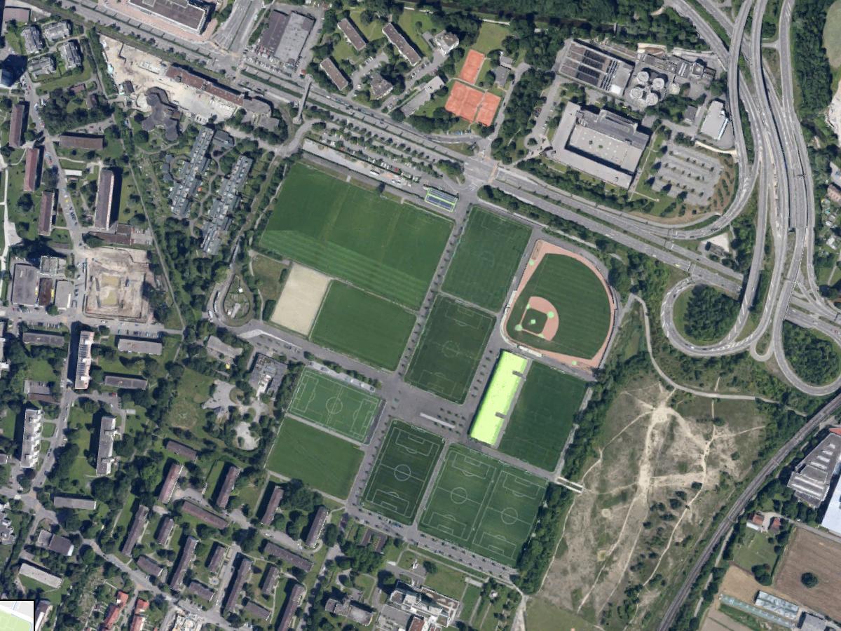 Sportanlage Heerenschürli – Sportrasen Architektur